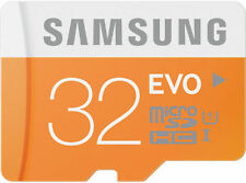 Samsung 32GB MicroSDHC Evo Class10 micro sd high speed card 32 GB + Warnty