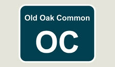 1x Old Oak Common Train Depot Sticker/Decal 100 x 77mm