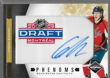 11/12 Limited Phenoms Gold Spotlight Auto Patch Rookie Cody Eakin /10 Capitals