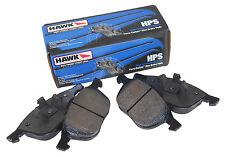 HAWK HPS STREET FRONT BRAKE PADS FOR 1990-1991 HONDA CRX SI 1.6L D16A6 EF
