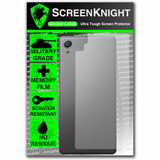 ScreenKnight Sony Xperia X BACK SCREEN PROTECTOR invisible military shield