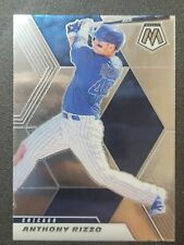 2021 Panini Mosaic Base #180 Anthony Rizzo - Chicago Cubs