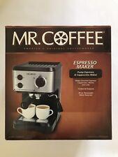 *New* Mr Coffee Pump Espresso & Cappuccino Maker BVMC-ECMP55