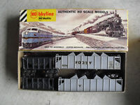 Lot of 4 Vintage HO Scale Hobbyline Coal and Alcoa Hopper Cars in Box