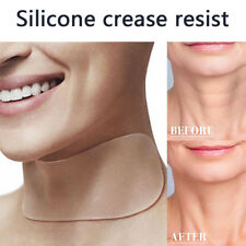 Transparent Neck Care Lifting Pad Silicone Anti Wrinkle Aging Reusable Beauty