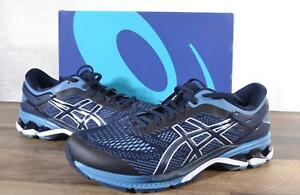 New ASICS Men's GEL-Kayano 26 Running Shoes Size 9 Midnight/Grey Floss