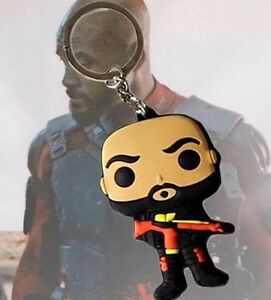 New DC Rubber Dead Shot Keyring Keychain