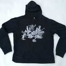 SPECIAL EDITION RVCA By PM Tenore • ROCK BAND • Men's Pullover Hoodie LARGE