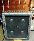 Kustom TR410 8 Ohm Bass Cabinet! 4x10 Jensen Speakers Silver Sparkle NO RESERVE
