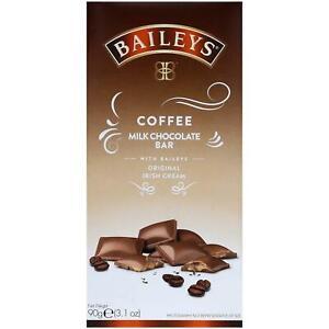 Baileys Coffee Milk Chocolate Bar 90g Irish Cream Liqueur
