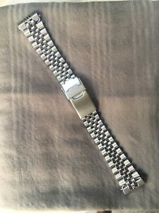 Original Seiko Jubilee Bracelet W/20mm Ends. Excellent +