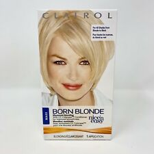 Clairol Nice 'N Easy Born Blonde Hair Color Maximum Blonding NEW