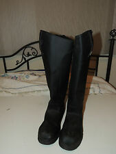 Horse Mountain Equestrian Riding Boots Insulated Winter Mens 12 VGUC Black 4699
