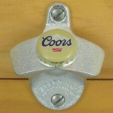 COORS BEER BOTTLE CAP Starr X Wall Mount Opener NEW!