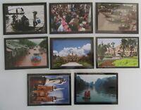 8 x VIETNAM Viet Nam Sonderformat Postkarten Postcards Lot Asien Asia ungelaufen