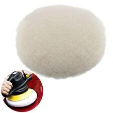 180mm Lambs Wool Buffing Polishing Pads Bonnets Sanding On Car Buffer Pad