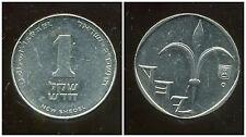 ISRAEL 1 new sheqel  2002