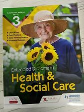 More details for cache technical level 3 extended diploma in health and social care maria peteiro