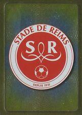 N°613 ECUSSON BADGE # STADE DE REIMS STICKER PANINI FOOT 2012