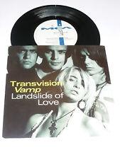 """TRANSVISION VAMP - Landslide Of Love - 1989 UK 2-track 7"""" vinyl single"""