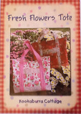 Fresh Flowers Tote Pattern - A quick and easy tote bag