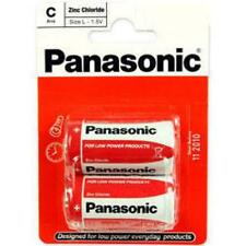 Panasonic C Size Battery Non Rechargeable Batteries x 2