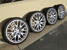 """20"""" Audi S5 A5 sline TSW wheels A6 S6 oem hypersilver 19"""