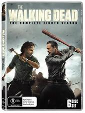 THE WALKING DEAD 8 (2017-2018) Zombie Action TV Season Series NEW Au Rg4 DVD