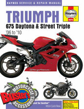 Genuine Haynes Workshop Manual 4876 Triumph 675 Daytona Street Triple 2005-2009