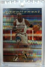 1999 UPPER DECK SPX Michael Jordan #S20 SPXCITEMENT ATOMIC REFRACTOR LIKE INSERT