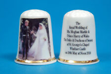 Harry & Meghan Coming Out Of Church The Duke & Duchess of Sussex Thimble B/114