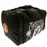 Official MANCHESTER UNITED FC Holdall Travel Overnight Gym Sports BAG Man Utd