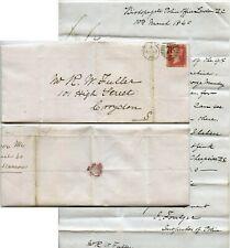 More details for 1860 letter signed foulger police re hansom cabs meter re measuring machine