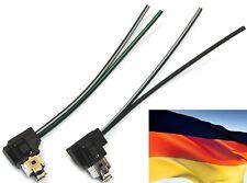 Flosser Wire Harness 14442 Pigtail Female H1 Head Light Bulb Socket Low Beam OE