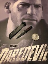 HOT TOYS Daredevil Stagione 2 il vendicatore Knife & Guaina Loose SCALA 1/6th
