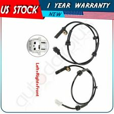 Pair Front Abs Wheel Speed Sensor Left or Right Side For Nissan Sentra 2007-2012