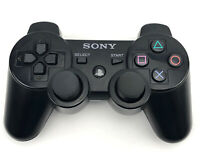 Genuine OEM Sony PlayStation 3 PS3 Sixaxis DualShock 3 Controller BLACK A
