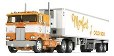 DCP MONFORT OF COLORADO PETERBILT 542 COE 40' VINTAGE TRAILER THERMO KING REEFER