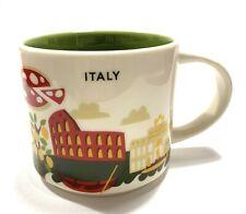 Starbucks Coffee 'You Are Here' ITALY YAH City Mug, Italia! :)