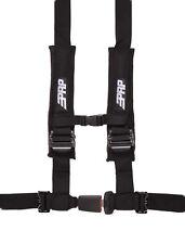"PRP 4 Point 2"" Harness Seat Belt Automotive Style Latch Black RZR XP 1000 Turbo"