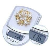 Digital Electronic Pocket Food Weight Scale Mini LCD 0.1g T1Y5 Weighing Z3Z4