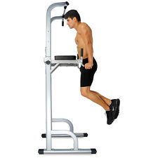 Power Tower Strength Training Fitness Equipment Standing Pull Up Bar Gym Office