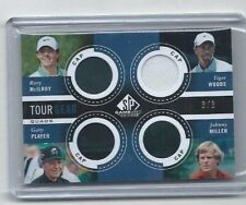 2014 GU GOLF CARD TOUR GEAR CAPS HAT RORY McILROY TIGER WOODS MILLER PLAYER 3/8
