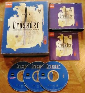 Crusader : Consiparcy in the Kingdom of Jerusalem (PC CD-ROM) Big Box - V.G.C.