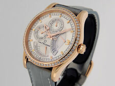 Carl F. Bucherer Manero Retrograde 00.10901.03.16.01 Diamond bezel $29,500 LNIB
