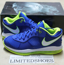 NIKE LEBRON VIII 8 V/2 LOW SPRITE  456849-401 US 9 SIZE solar red yankees home
