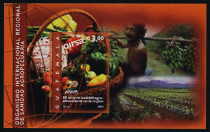 Guatemala 505 MNH Regional Sanitary Agricultural Organization, Vegetables