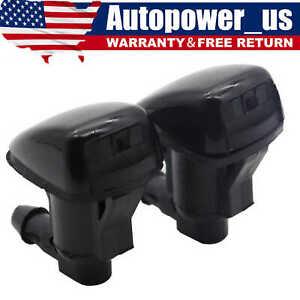 2PCS Windshield Washer Water Nozzle Spray fits 2008-2012 Chevrolet Malibu NEW