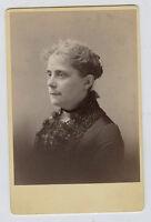 Cabinet Photo -Boston, Massachusetts-Close Up - Older Lady-McCormick Studio