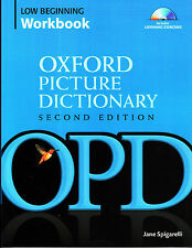 OXFORD PICTURE DICTIONARY Low Beginning WORKBOOK Vocabulary Reinforcement+CD NEW